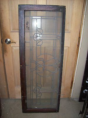3 available matching floral flat glass transoms   (SG 1507)