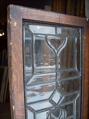 "Beveled glass window 65"" x 20 1/2""    (SG 1540) 3"