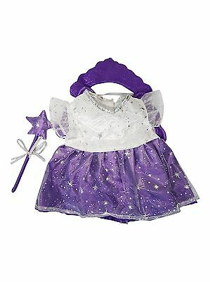 Purple Fairy Clothing Outfit by Stufflers – Will fit on a Build a bear