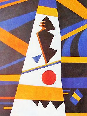 "Milieu Accompagne Offset Lithographie 1979 Vintage Kandinsky /"" Begleitet"