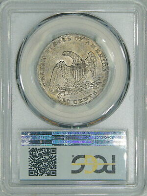 1837 PCGS MS63 Bust Half, nice luster & surfaces, decent piece for your type set 2