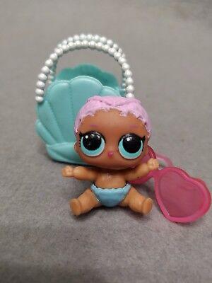 Lol Surprise Doll Series 2 Lil Sister Merbaby COLOR CHANGE