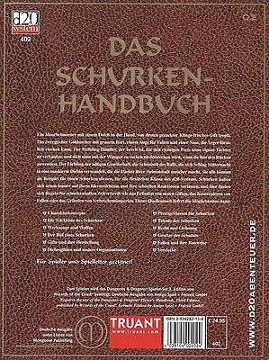 Dungeons & Dragons-D&D-Das Schurken-Handbuch-Quellenbuch Q2-d20 system-neu