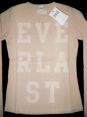 EVERLAST t-shirt top maglietta jersey rosa girl ragazza 16 anni o donna XS BNWT 2