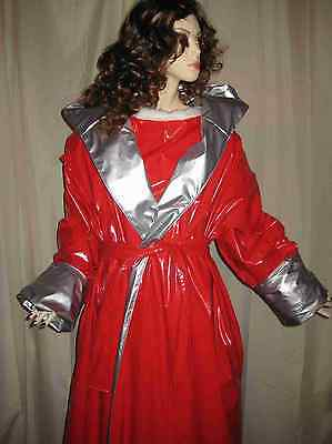 Lackwendemantel, Lackmantel, Übergröße,Crossdresser,Vinylcoat, Bigsize