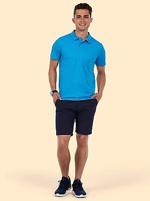 Uneek MENS ULTRA COOL POLOSHIRT Polyester Breathable Wicking Light Soft Polo TOP 4