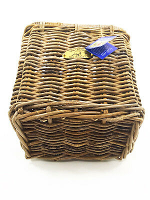 """Pannier Basket With Hooks Nantucket Bicycle Basket Co.13/"""" Length x 9.5/"""" Width"""