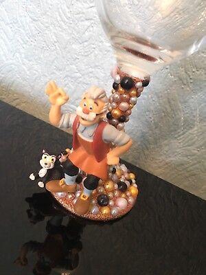 bcd0cd776cff DISNEY GEPETO FIGURE Wine Glass xx Pinocchio xx - £14.95
