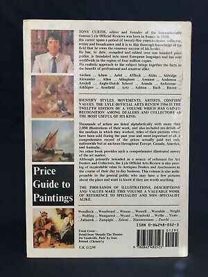 he Lyle Official Arts Review 1986: The Price Guide to Paintings, Curtis, Tony NR 2