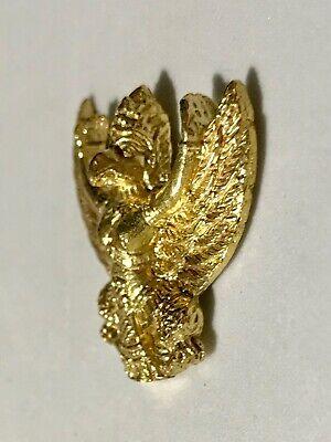 GARUDA PHAYA KRUT RING PHRA LP RARE OLD THAI BUDDHA AMULET PENDANT MAGIC IDOL#24
