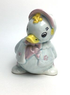 Sweet Baby Duck Ceramic Planter  Holder