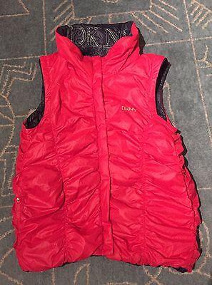 DKNY girl's reversible jacket  / vest size 12 years 8