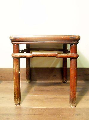 Antique Chinese Ming Meditation Bench (5791), Circa 1800-1849 7