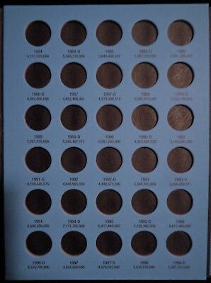 Whitman Lincoln Memorial Cents #1 & 2 1959-2008 Coin Folders, Albums Books 5