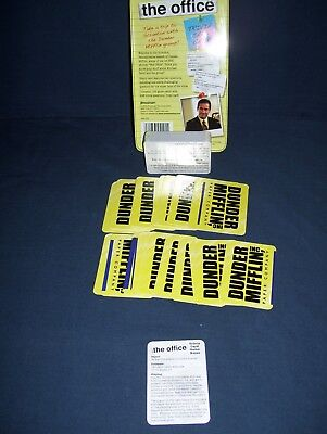 The Office Trivia Card Game Pressman 2009 Used 2