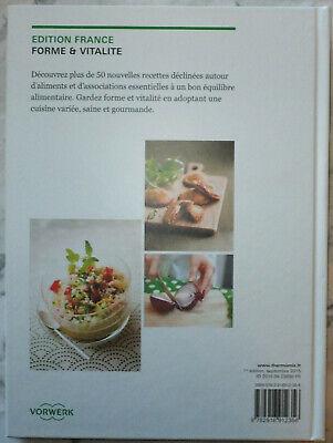 Livre Cuisine Thermomix Vorwerk Forme Et Vitalite 50 Recettes