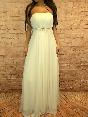 Lagenlook raffiniertes Tunika-Zipfel-Wolken-Kleid Jersey weiss XL,XXL,XXXL