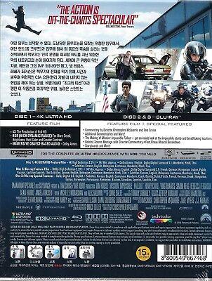 Mission: Impossible: Fallout 4K U'Mania Selective Ltd. SteelBook (Korea Import) 2