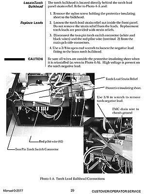 Thermal Dynamics PakMaster 25 110 Volt Plasma Cutter Operating Manual *992