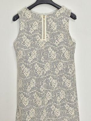 Promod abito vestito corto fiori rose dress kleid manica corta tg S hot T802 9