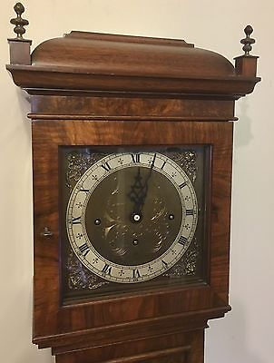 Elliott WESTMINSTER CHIME Burr Walnut Grandmother Miniature Grandfather Clock 2 • £3,450.00