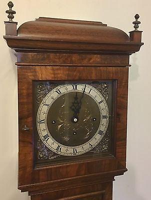 Elliott WESTMINSTER CHIME Burr Walnut Grandmother Miniature Grandfather Clock 2