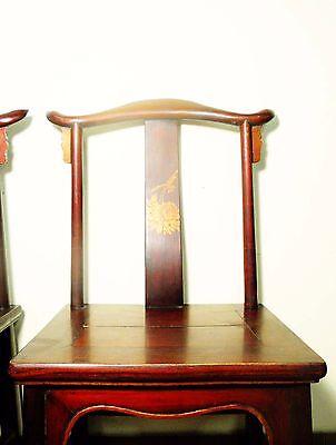 Antique Chinese High Back Chairs (Pair) (5767), Circa 1800-1849 6