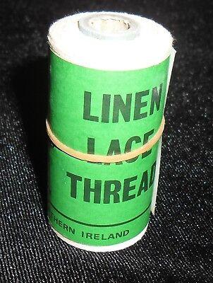 GENUINE VINTAGE CAMPBELLS IRISH LINEN THREAD 25 GRAM SPOOL COLOUR HB