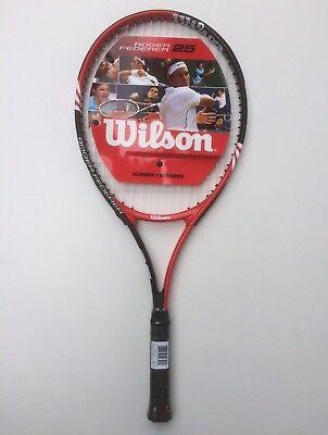 plus Hülle besaitet NEU Wilson Roger Federer 25 White