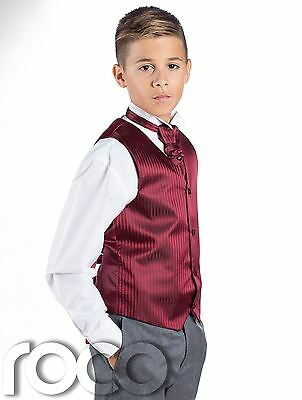 Boys Suit 5pce suits 0-3mth-14-15yr pageboy christening formal pageboy wedding