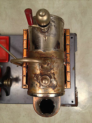 DBP Angem Steam Engine Model  Made in Germany Has Burner Tray Missing Piston Rod 6