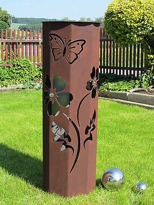 Gartendeko rost feuers ulen rosts ulen gartenskulpturen for Gartendeko metall rostig