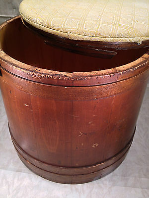 19th Century Antique American Folk Art Bucket Pantry Box 6