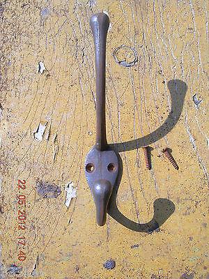 5 x 1950's Style ~ Retro Cast Iron Coat Hooks ~
