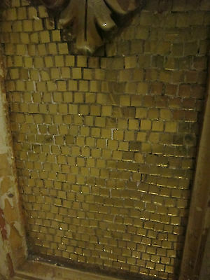 19th c Ornate Plaster Architectural Element from Philadelphia gold micromosaic 6