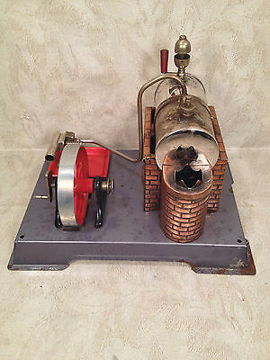 DBP Angem Steam Engine Model  Made in Germany Has Burner Tray Missing Piston Rod 4