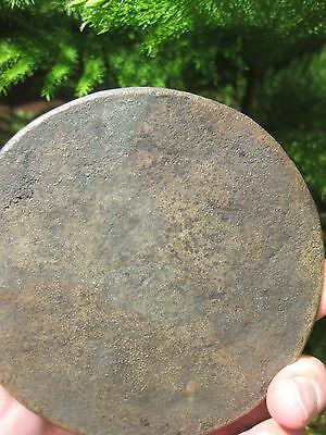 Antique early Islamic Seljuk bronze mirror, Eastern Anatolia, 12-13 c CE 3