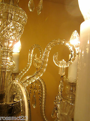 Vintage Lighting high quality Czech crystal chandelier by Weiss and Biheller 8