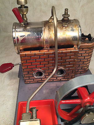 DBP Angem Steam Engine Model  Made in Germany Has Burner Tray Missing Piston Rod 9