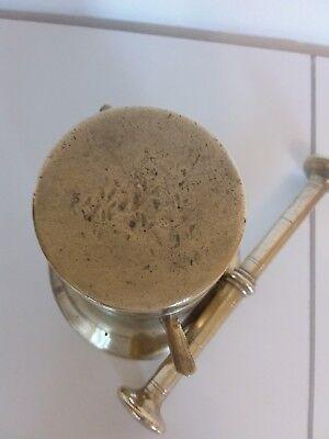 Antiker Apothekenmörser mit Pistill - BRONZE- 19.Jahrhundert / BIEDERMEIER