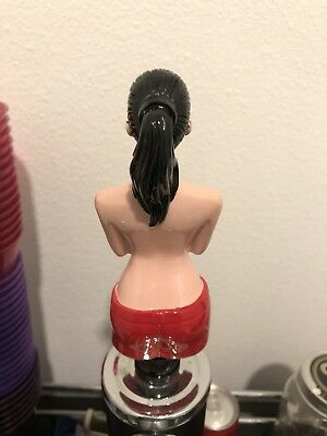 Naked, Topless Lady Beer Tap Handle for Bud Light, Miller Lite, Coors,