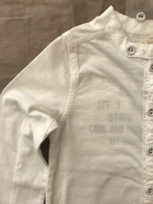 Neuf avec étiquettes ELIANE et LENA garçons Santa Cruz Chemise Grise Neuf Tailles 5y 6y 8y 10y style 44C02