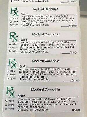 Rx medical labels 2