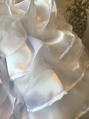 Made To Measure * Sissy Maid * Huge Ten Layer Satin And Organza Petticoat 3