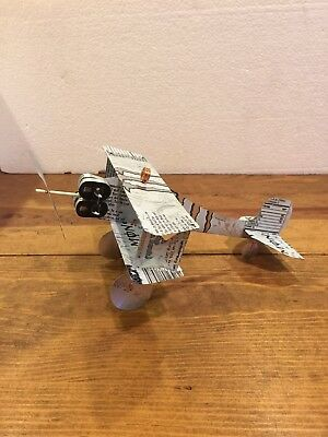 Monster Energy Handcrafted Biplanes Monster Engine Zero Ultra Aluminum Art 6