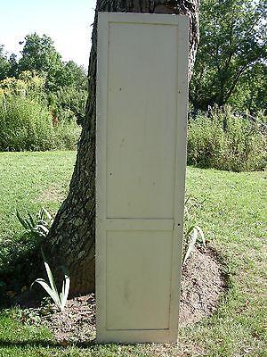 ANTIQUE DOOR NEW ENGLAND 2 Panel 19th CENTURY INTERIOR 81 x 21 1/4 2
