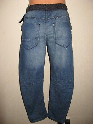 New Tagged Boys Next Cuffed Waist Pull On Skinny Leg Jeans & Next T-Shirt Age 11 6