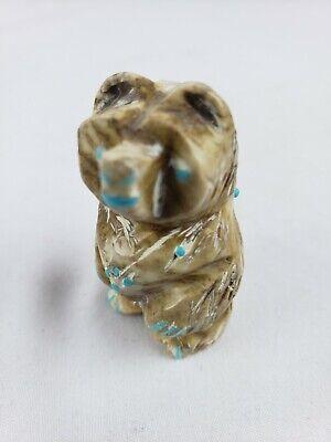 Great carved Zuni bear fetish 2