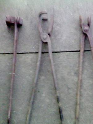 Rare Old Blacksmiths Irons 2