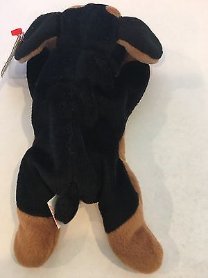 061f2e1be75 9 9 of 11 Doby The Doberman Pinscher Dog Ty Beanie Baby Style 4110. Rare